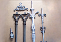 Traditional Local Fence Parts  Cast in 356 Aluminum