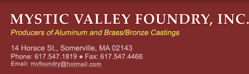 Mystic Valley Foundry